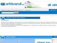 Director Web, Promovare - www.arhivarul.ro