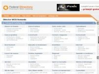 Federal, Director WEB Romania - www.federal.ro
