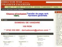 Director web transfer pagerank - www.megadirector.eu