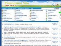 Promovare site gratuit, promovare in google, promovare web de calitate - www.promovare-site.ro