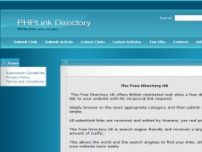 The Free Directory UK free direct links no reciprocal link required - the-free-directory.co.uk