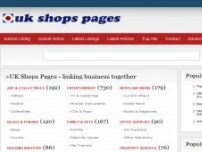 UK Shops Pages - Business Directory primarily for UK based companies - ukshopspages.co.uk